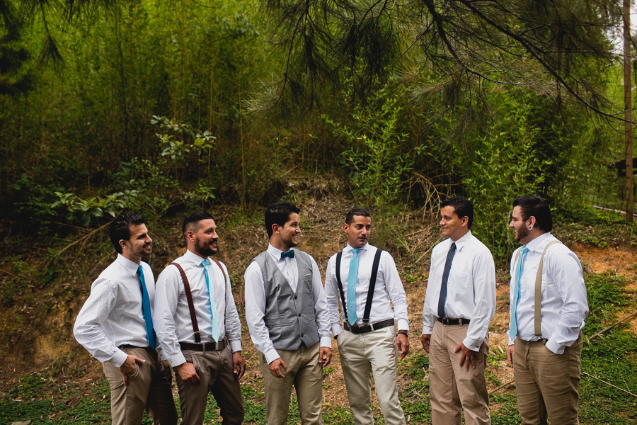 costa rica mountain wedding