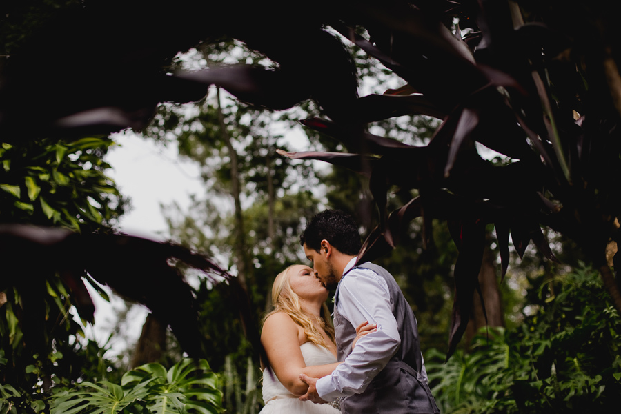 bride and groom costa rica wedding