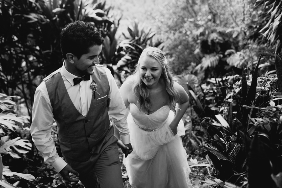bride and groom costa rica wedding