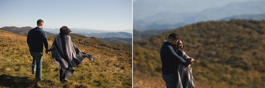 asheville engagement session