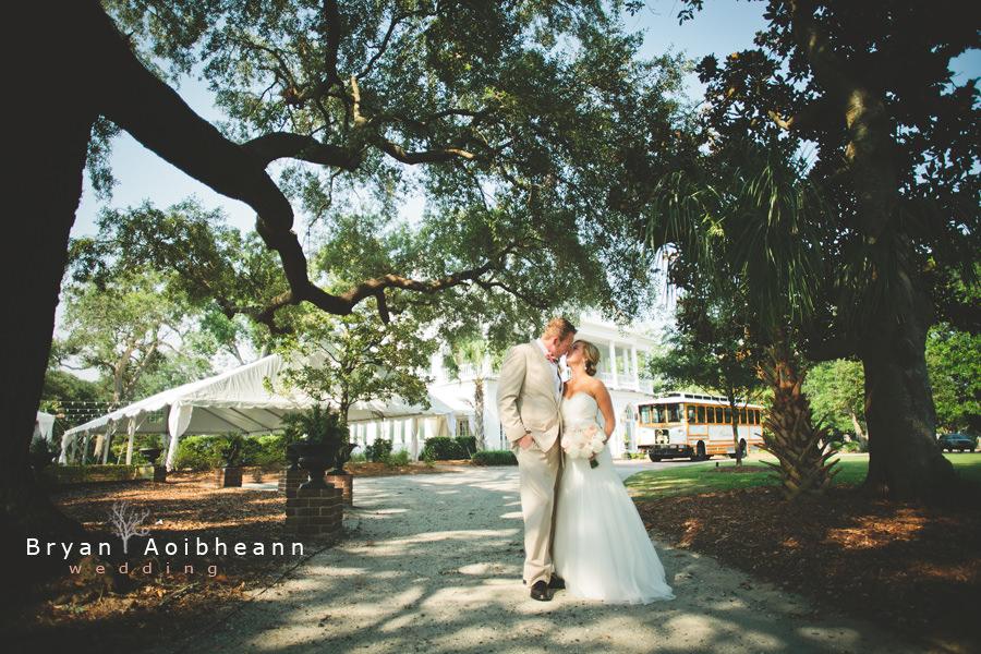 Lowndes Grove Wedding Plantation